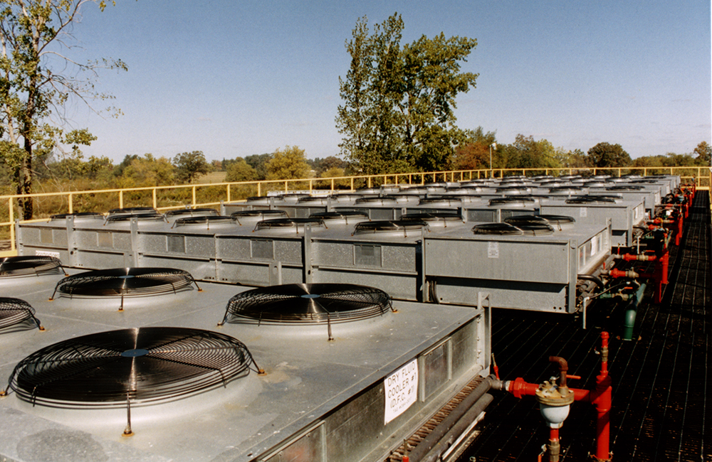 Inductotherm Water Systems With Dry Air Coolers
